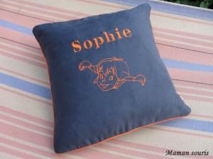 Coussin carré Sophie