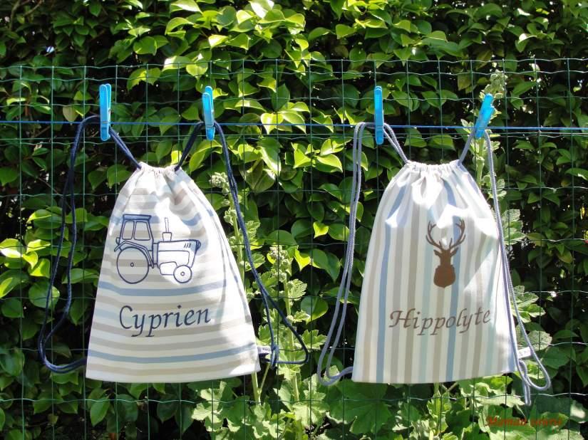 sac à dos Hippolyte et Cyprien
