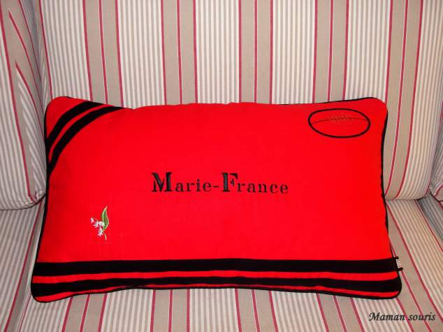 coussin rectangle Marie-France RCT
